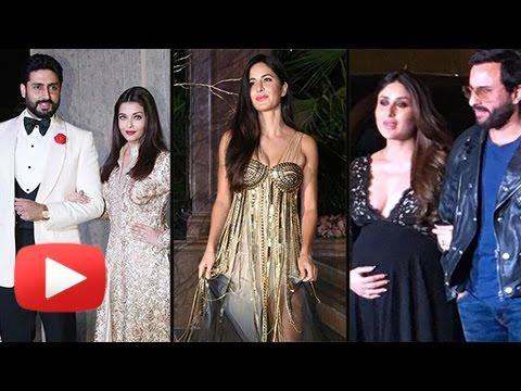 Katrina Kaif, Kareena Kapoor, Aishwarya Rai, Sonam Kapoor At Manish Malhotra 50th Birthday