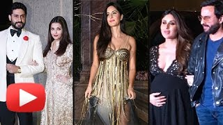 Katrina Kaif, Kareena Kapoor, Aishwarya Rai, Sonam Kapoor At Manish Malhotra 50th Birthday