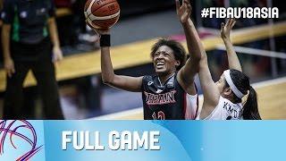 Korea v Japan - Full Game - Semi Final - FIBA Asia U18 Championship for Women 2016