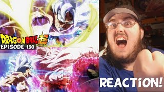 Dragon Ball Super Episode 130 HD English Subbed (GOKU VS JIREN FINAL BATTLE!) REACTION!!!