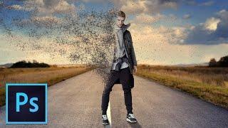 Photoshop Tutorial: Disintegration Sand Effect
