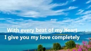 Ronan Keating This I Promise You With Lyrics