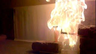 Fire+Wax+Water = Boom