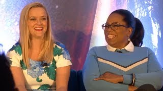 """Disney's """"A Wrinkle in Time"""" FULL press conference with Oprah Winfrey, Reese Witherspoon, more"""