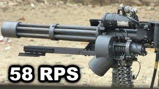 M134 Minigun Firing (w/Slow Motion) at Knob Creek
