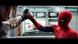 Captain America: Civil War - TV Spot #30 - Spider-Man VS Bucky (2016) NEW Footage