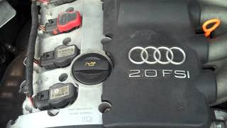 VOLKSWAGEN AUDI A4 2.0 FSI AWA ENGINE FOR SALE BREAKING AT GERMAN BITZ