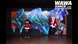 WAWA DANCE ACADEMY CRAYON POP LONELY CHRISTMAS DANCE STEP