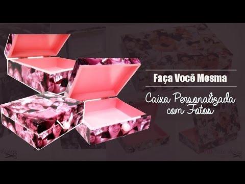 Como Fazer Caixa Personalizada com Fotos