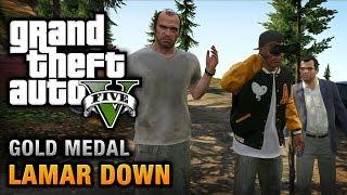 GTA 5 - Mission #70 - Lamar Down [100% Gold Medal Walkthrough]