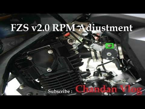 How to modify your engine for more mileage by tuning your Carburetor | FZS v2.0 RPM Adjustment