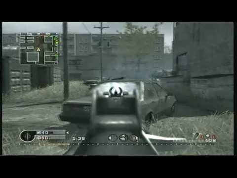 Call of Duty 4 - Team Deathmatch 10(Ak-74u)