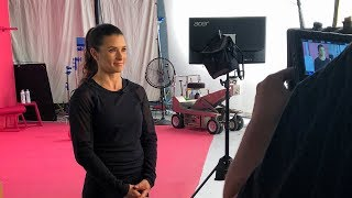 Danica Patrick Dreams & Passion - Fitness, Cooking & Flowing Wine