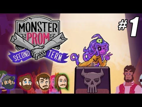 Monster Prom Second Term Multiplayer Part 1 NEW CHARACTERS