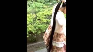 【黒髪ロング】Japanese Super Long Hair【超ロングヘア】