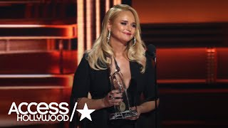 Miranda Lambert Gets Emotional During Historic 2017 CMAs Acceptance Speech
