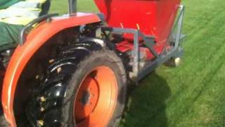 Bulb Planting Machine from Lubbe & Sons (Bulbs) Ltd
