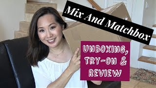 Mix and Matchbox | Style in a Box | Unboxing, Try-on & Review  | January 2018