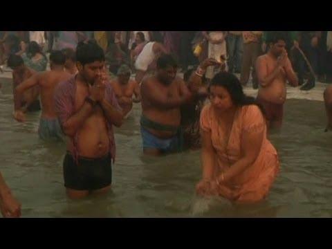Millions Bathe in Ganges River for Maha Kumbh Mela