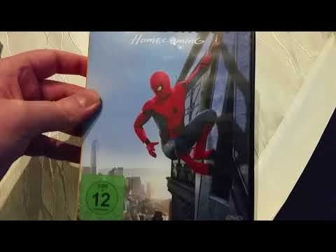 Xxx Mp4 SPIDER MAN Homecoming Unboxing DVD Part 44 3gp Sex