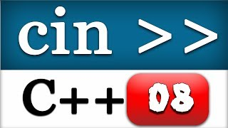 Cin in C++ for Receiving User, Console Input | CPP Programming Video Tutorial