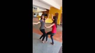 dhol dance by girl