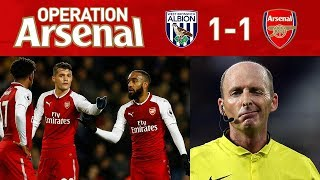 WEST BROM 1-1 ARSENAL - IT'S ALL ABOUT MIKE DEAN!!!