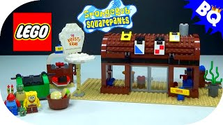 LEGO SpongeBob SquarePants Krusty Krab 3825 Flash Speed Build