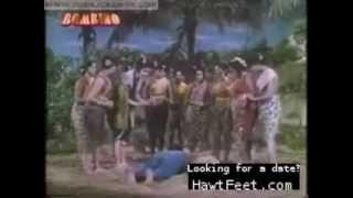 Indian women trampling on guys