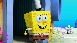 SpongeBob HeroPants - Walkthrough Part 1 - Warzone: Level 1