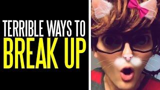 Five Terrible Ways to Break Up