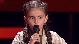 Каринэ Меграбян - Я деревенская | Голос Дети 4. СП