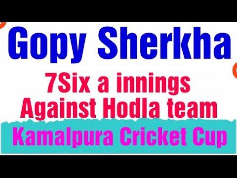 Xxx Mp4 Gopi Sherkha Well Played Great Batting 7Six A Innings At Kamalpura Cricket Cup Best Six Top Six 3gp Sex