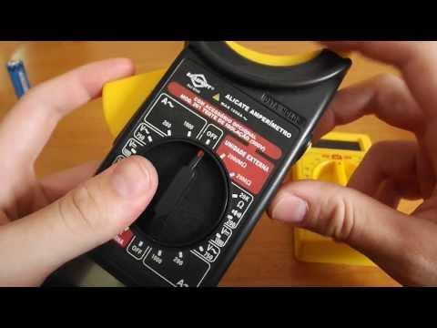 Como usar Multímetro e Amperímetro digial Aprenda a usar o multímetro e alicate amperimetro