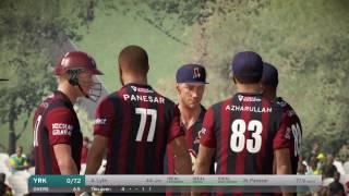 Don Bradman Cricket 17 | NatWest t20 Blast | Northamptonshire Vs Yorkshire | Gameplay | PS4 | Xbox