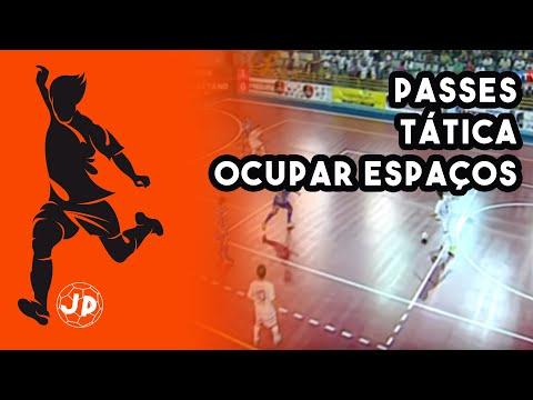 Futsal Passes Posicionamento