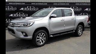 2016-2018 Toyota Hilux Revo Full Option   A full detail start up review