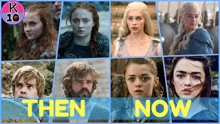 GAME of throne CAST THEN and NOW [season 1 and season 7]