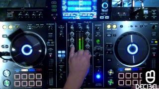 Decibel Man testing the new Pioneer XDJ-RX2 live techno set 002