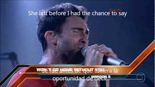 Maroon 5 -  Won't go home without you HD 720p (Sub Esp-Eng)