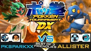 Pokken Tournament DX - Decidueye vs Croagunk (PKSparkxx vs Allister) (Nintendo Switch Gameplay)