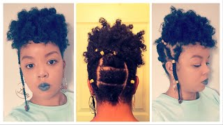 THE BEST FULANI INSPIRED BRAID &BEADS/DEFINED BANTU KNOTS ON TYPE4 HAIR