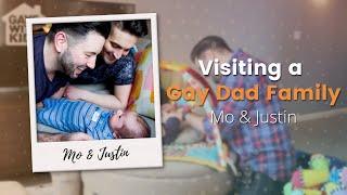 Visiting a Gay Dad Family: Mo & Justin