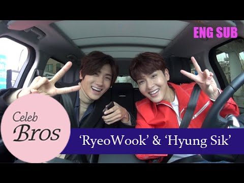 Ryeowook Super Junior & Hyungsik ZE A Celeb Bros S3 EP1 Temptation of wolves