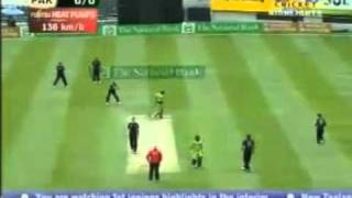 Pakistan vs New Zealand 3rd ODI Highlights 2011