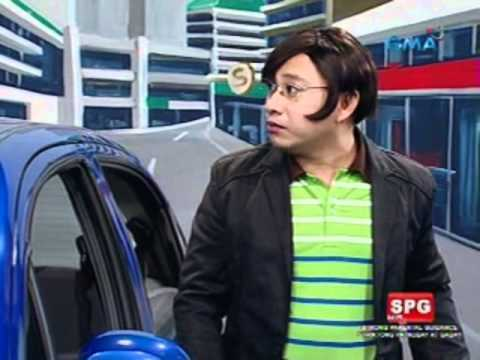Bubble Gang Mr. Assimo nagtaray sa gas station