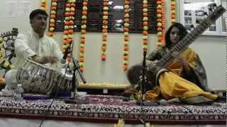 Alif Laila (Sitar) with Suryaksha Deshpande (Tabla) - Saraswati Puja 2013
