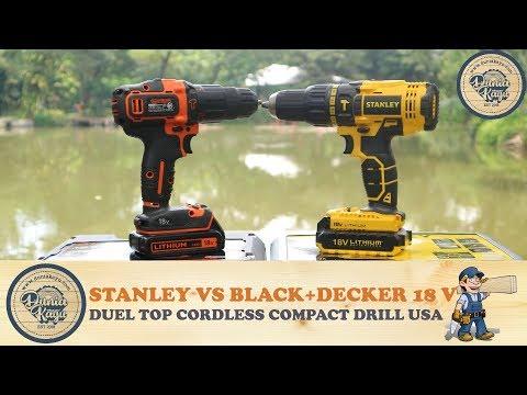 Xxx Mp4 Bingung Pilih Mesin Bor Cordless Hammer Drill Black Decker BDCHD18K VS Stanley SCH20C2K 18V 3gp Sex