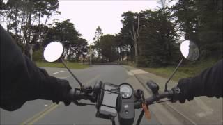Short clip of SF Presidio on a2b metro e-bike