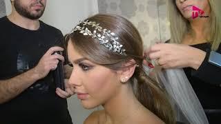 تسريحات مع اكسسوارات آخر موضة للعروس